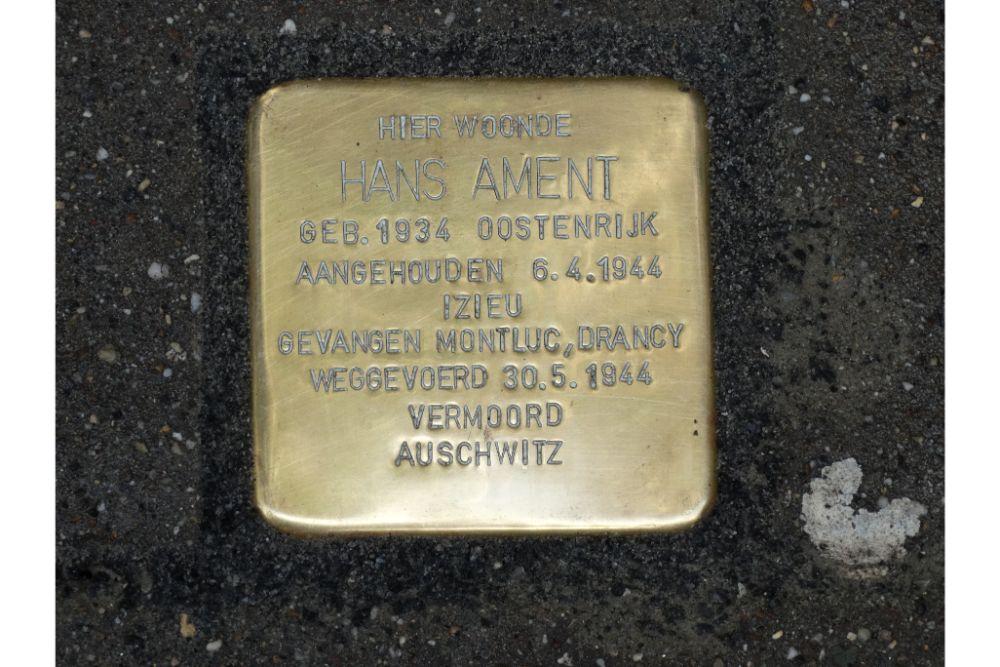 Stolperstein Lange Leemstraat 257