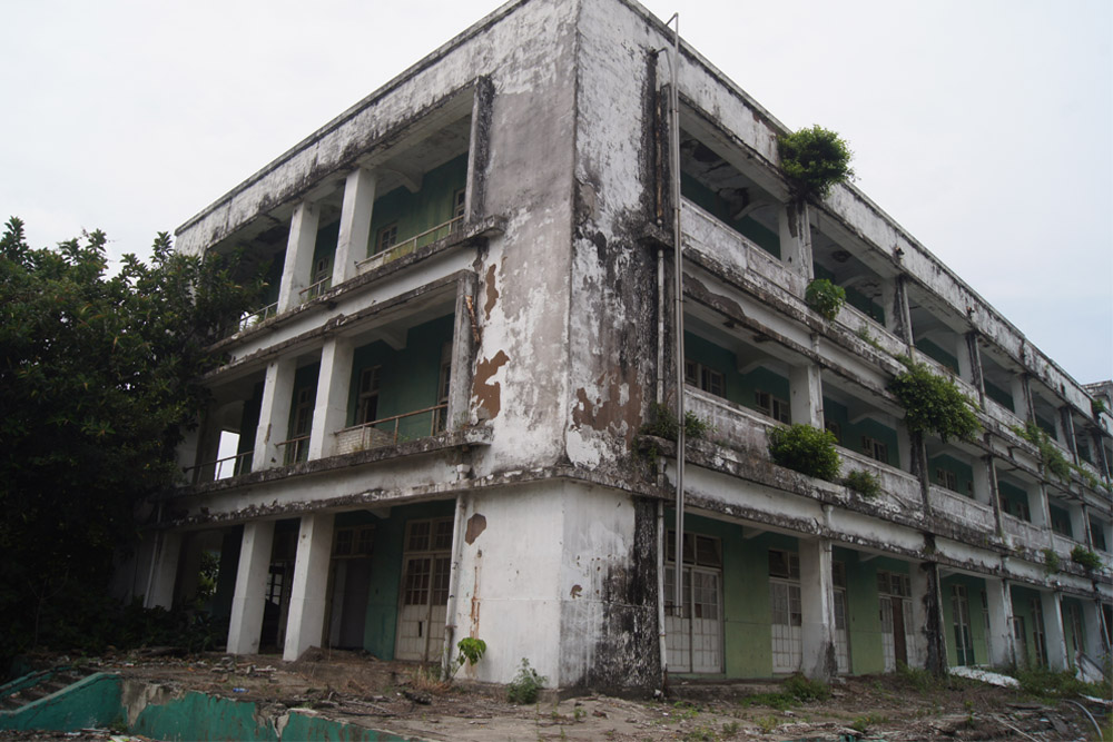 Former Japanese Donggang Air Base