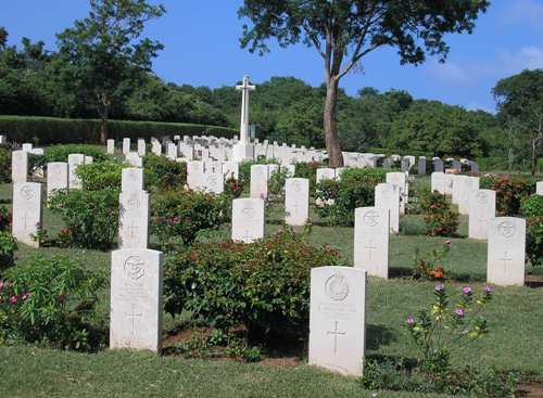 Commonwealth War Cemetery Trincomalee