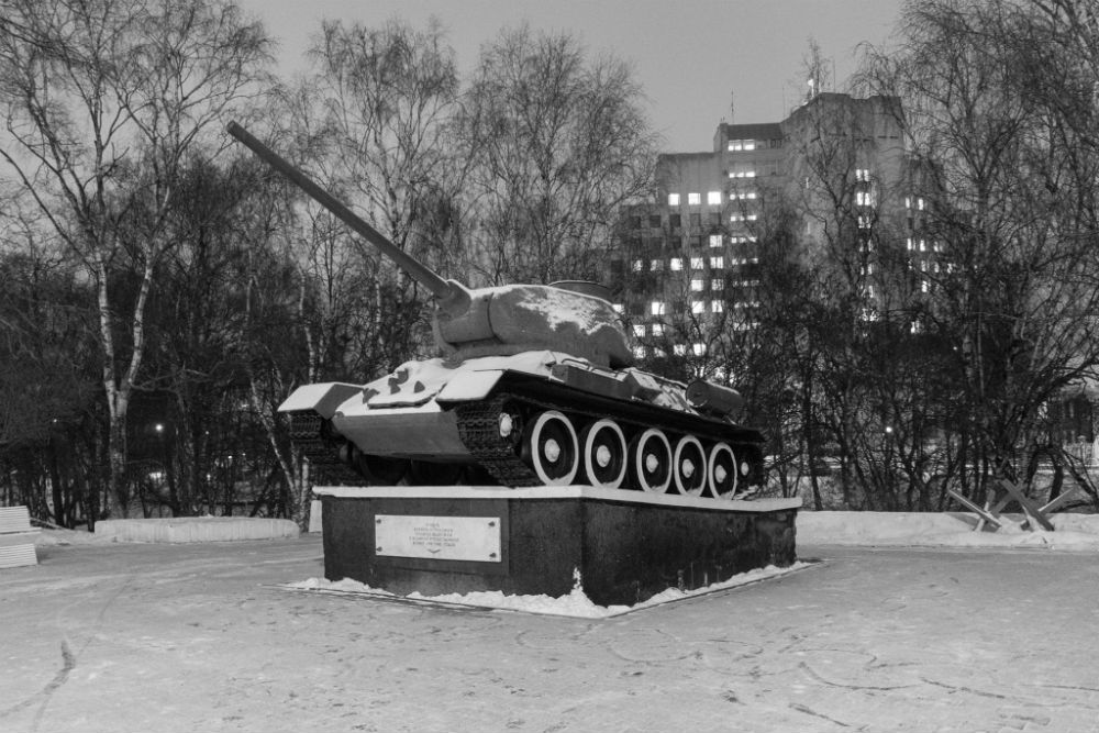 T-34/85 Tank Vologda