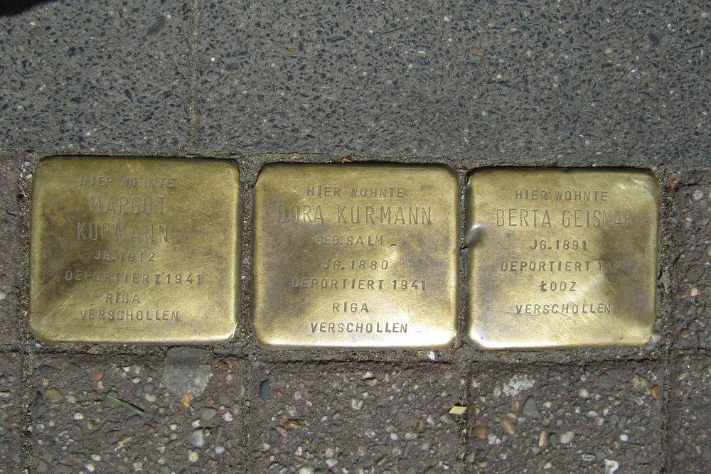 Stolpersteine Venloer Straße 12