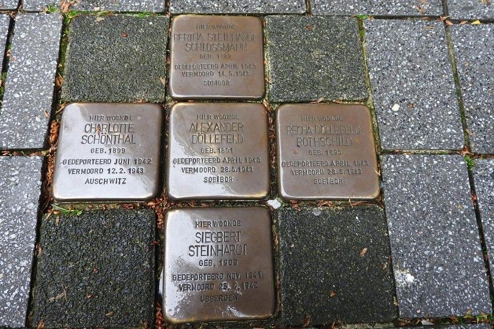 Stolpersteine Geleenstraat 53