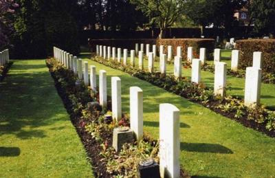 Commonwealth War Graves Darlington West Cemetery