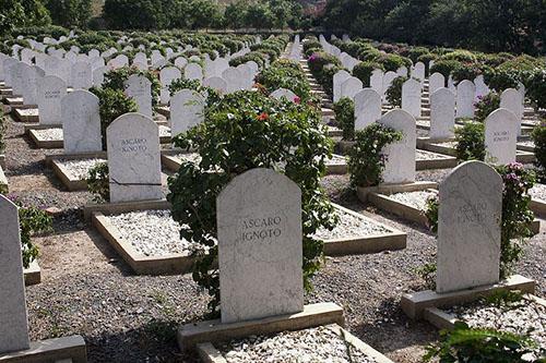Italiaanse Oorlogsbegraafplaats Keren