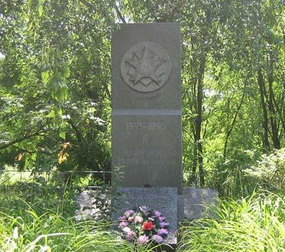 Mass Grave Soviet Soldiers Chernece
