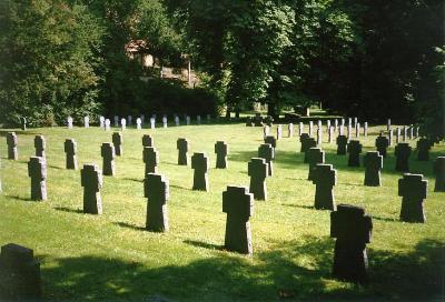 Duitse Oorlogsbegraafplaats Luxemburg-Clausen