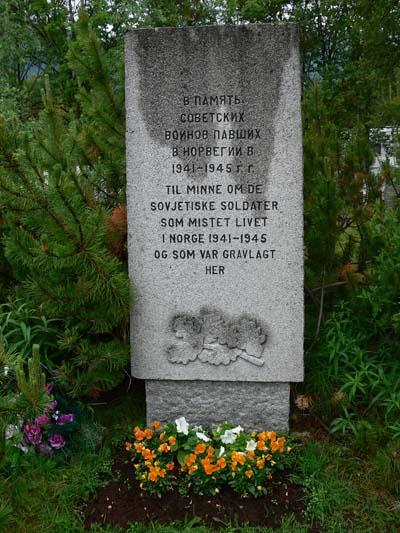 Monument Sovjet Krijgsgevangenen Storfjord