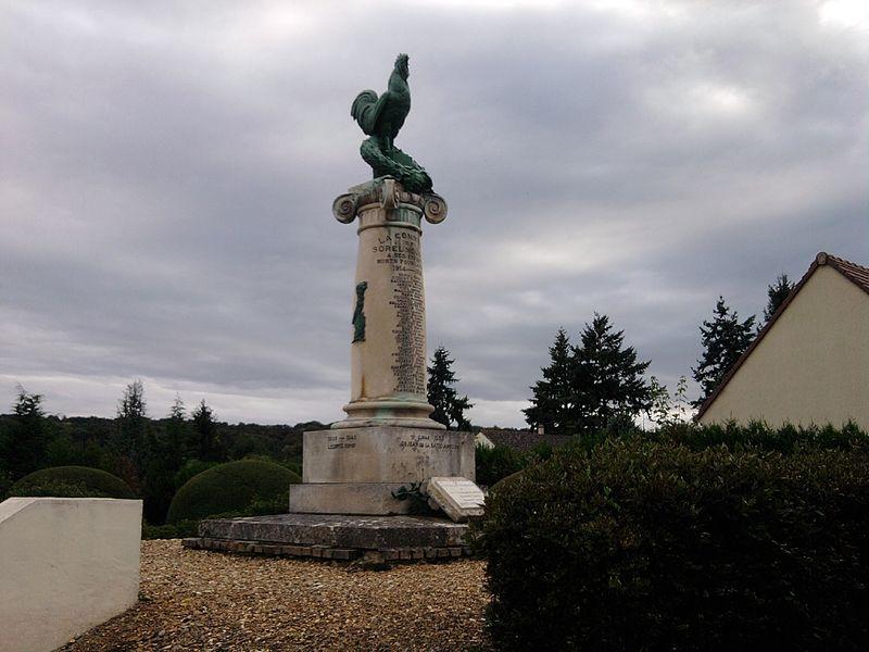 Oorlogsmonument Sorel-Moussel