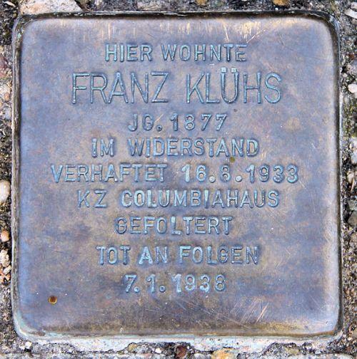 Stumbling Stone Kleineweg 77