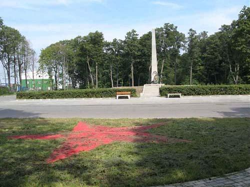 Mass Grave Soviet Air Men Kronstadt
