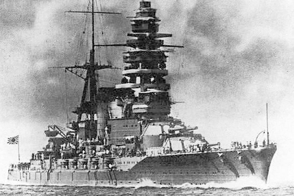 Ship Wreck IJN Mutsu