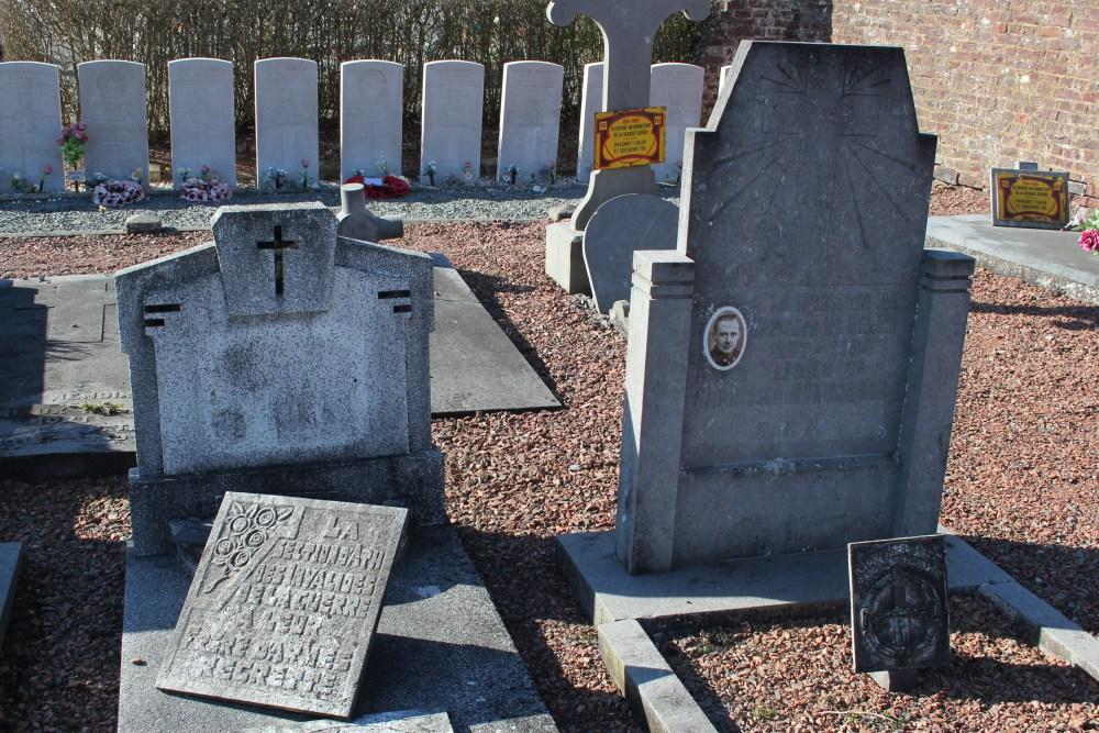 Graven Oudstrijders Irchonwelz