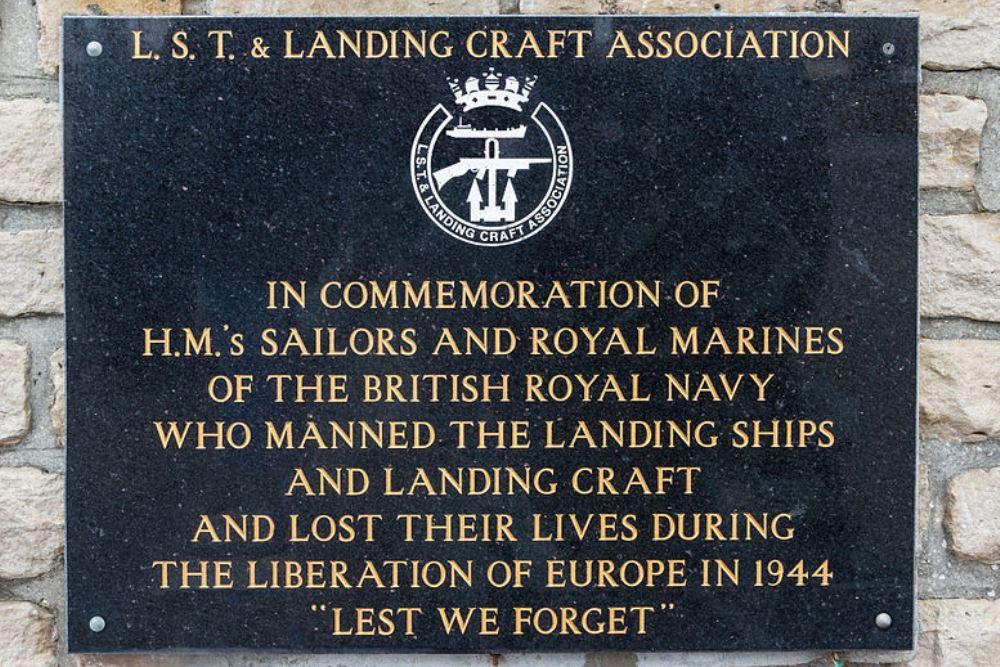 Plaquette L.S.T. & Landing Craft Association