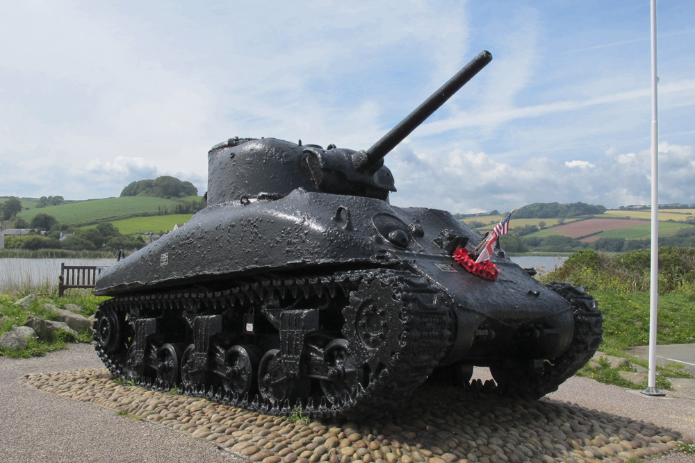 Monument Operation Tiger & Sherman DD Tank
