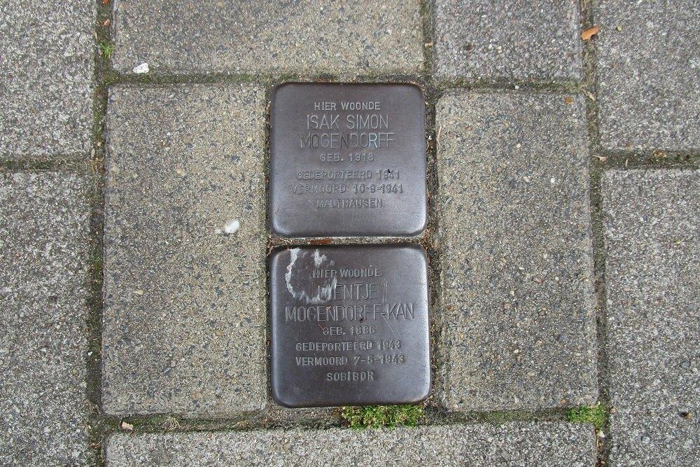 Remembrance Stones Biesboschstraat 40-III