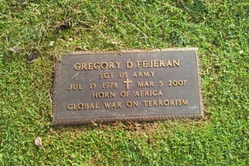 Amerikaanse Oorlogsgraven Guam Memorial Park