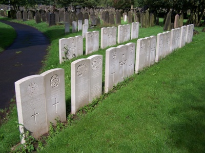 Commonwealth War Graves New Hall Lane Cemetery