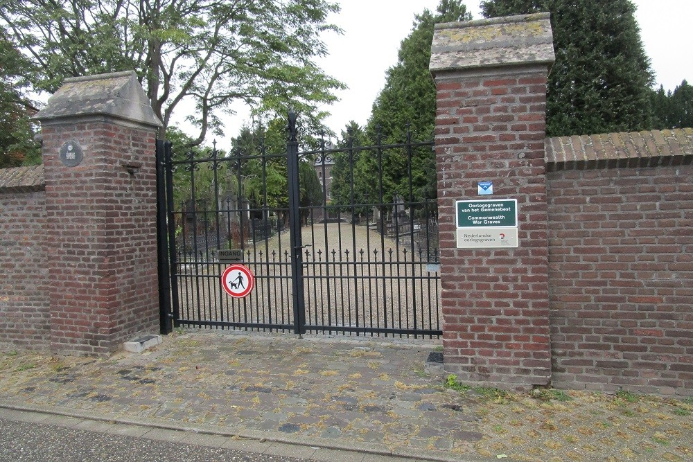 Cemetery Chapel in the Sand Roermond
