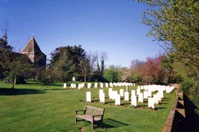 Commonwealth War Graves St. Nicholas Churchyard