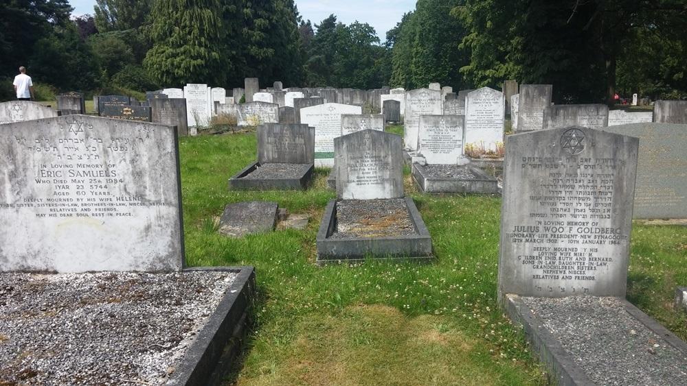 Oorlogsgraven van het Gemenebest Brandwood End Jewish Cemetery