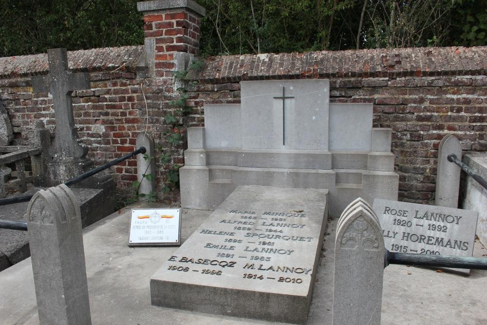 Graven Oudstrijders Saint-Géry