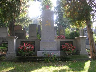 Collective Grave Soviet Soldiers Vienna