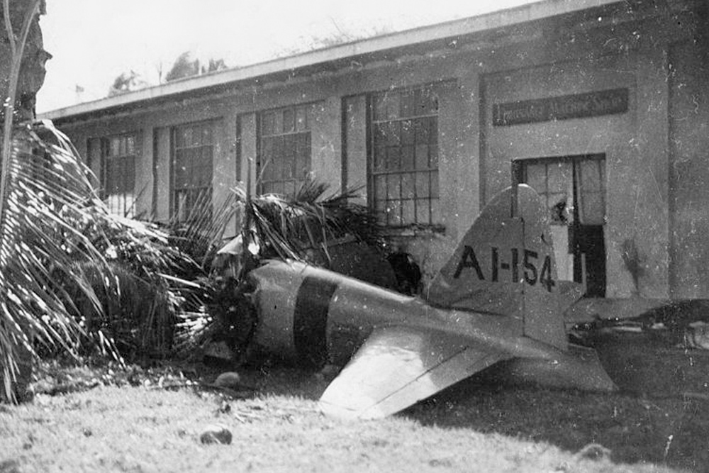 Crash Site Mitubishi A6M2 Zero # 5289