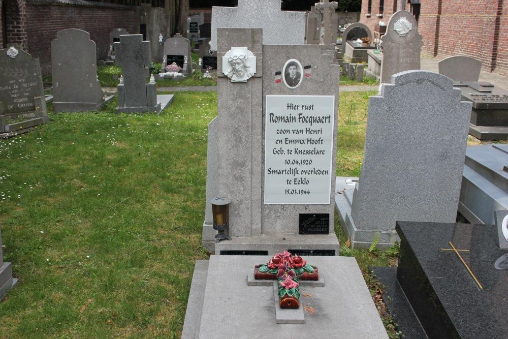 Grave Political Prisoner Maldegem Kleit
