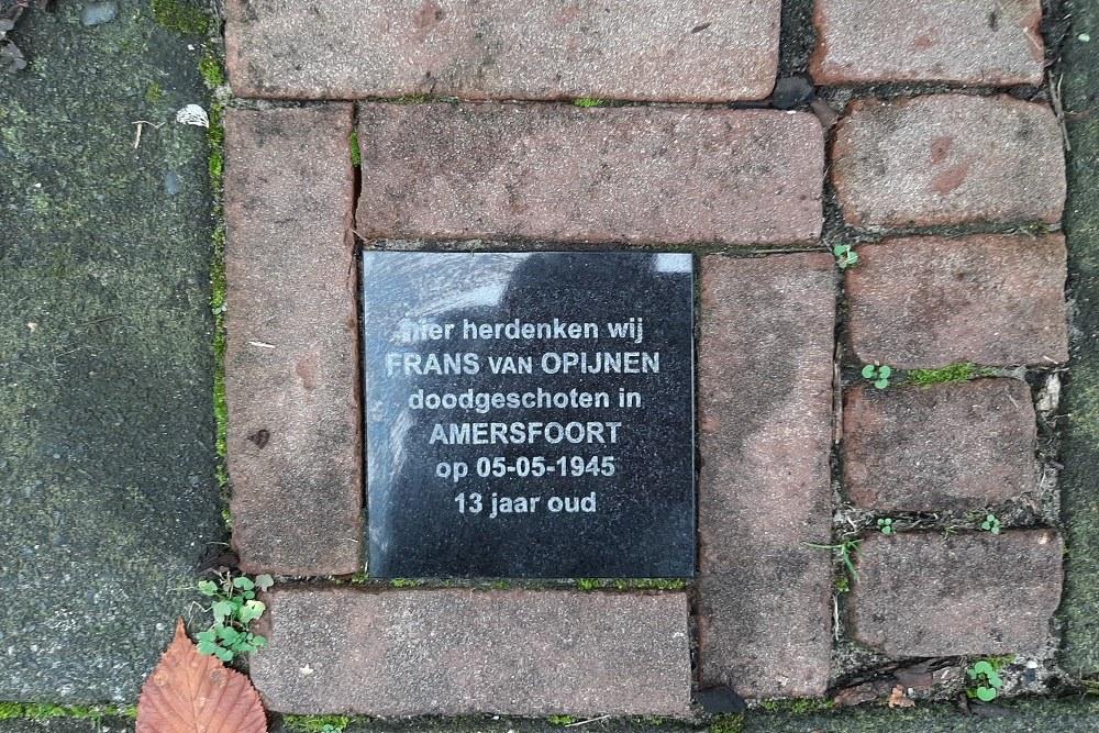 Memorial Stone Rijnstraat 37