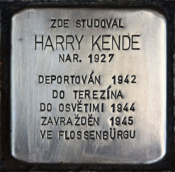 Stumbling Stone Česká 142/64