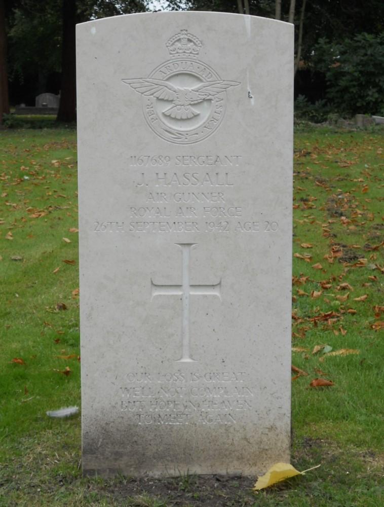 Oorlogsgraven van het Gemenebest Great Wyrley Cemetery