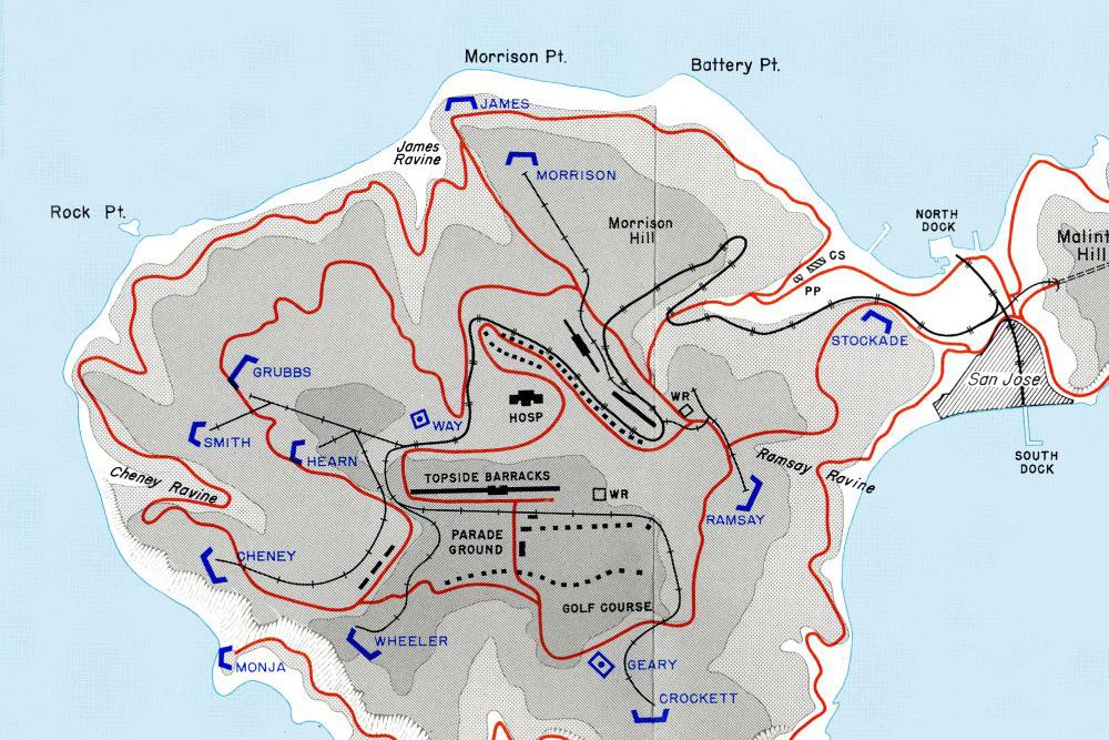 Corregidor - Battery Morrison