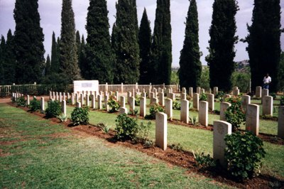 Commonwealth War Cemetery Thibar Seminary