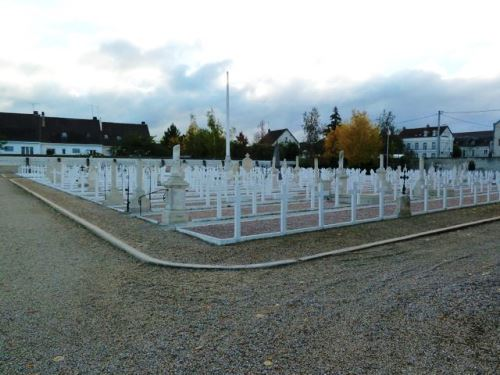 French War Graves Sens Communal Cemetery
