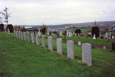 Commonwealth War Graves Londonderry City Cemetery