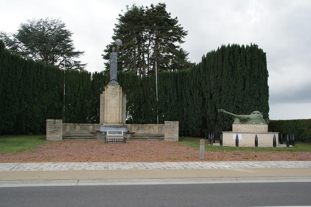 Monument Belgische Leger Jandrain