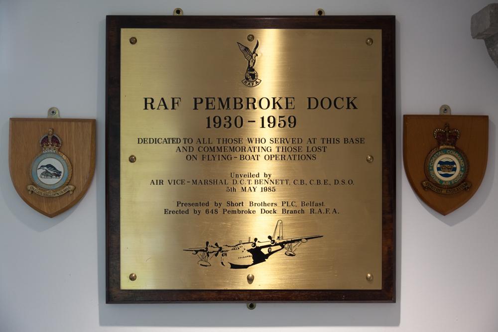 Plaquettes Pembroke Dock Heritage Centre