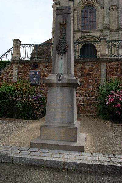 Oorlogsmonument Saint-Denis-d'Orques