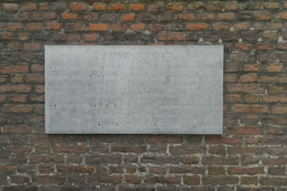 Plaque St. Martinuskerk