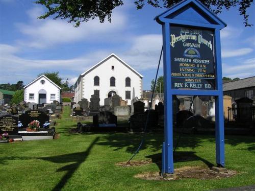 Oorlogsgraf van het Gemenebest Garvagh Second Presbyterian Churchyard