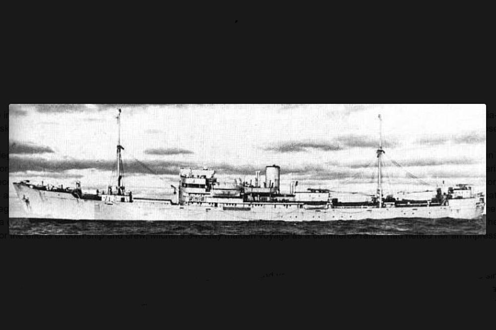 Shipwreck Michel (HSK-9)