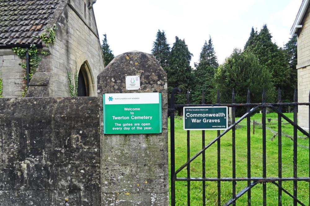 Commonwealth War Graves Twerton Cemetery