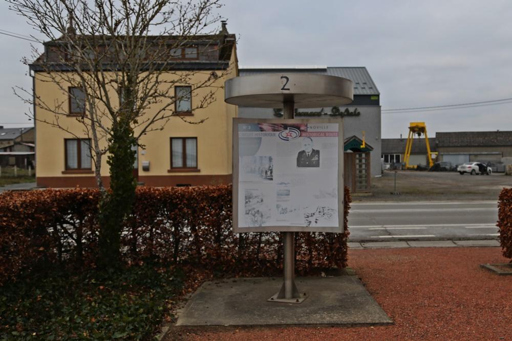 Historische Route Bastogne 2