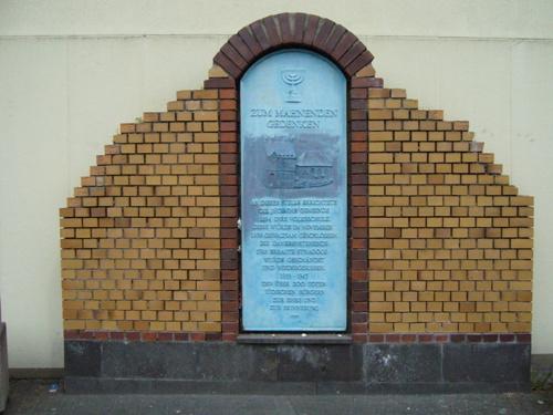 Memorial Synagogue Neuwied