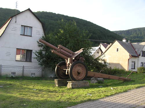 Memorial Fighting  Zliechov 1944 (122mm M1938 Howitzer)