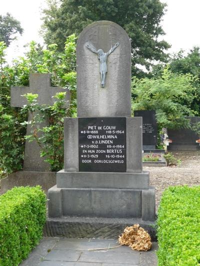 Nederlandse Oorlogsgraven Rooms Katholieke Begraafplaats Loven Besterd Tilburg