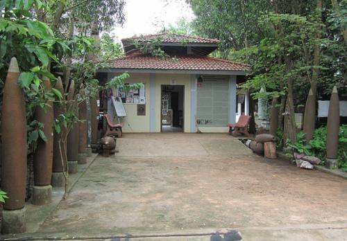 Landmijnenmuseum Cambodja