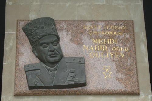 Monument Mehdi Quliyev
