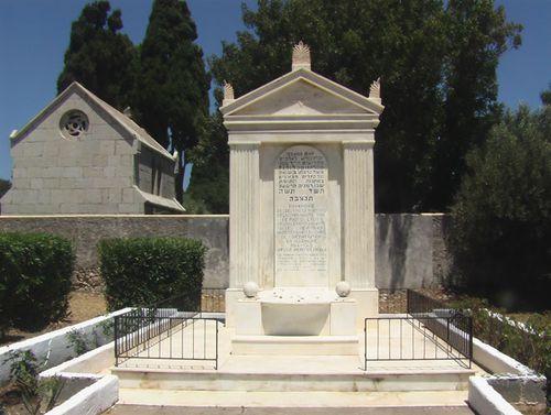 Holocaust Memorial Jewish Cemetery Rhodes