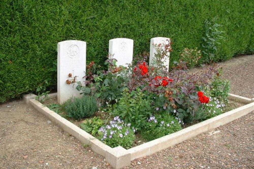 Oorlogsgraven van het Gemenebest La Herlière